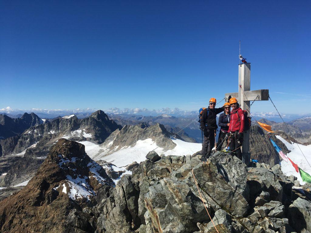 Piz Buin mit Bergführer © Alex Klampfer Bergführer Vorarlberg