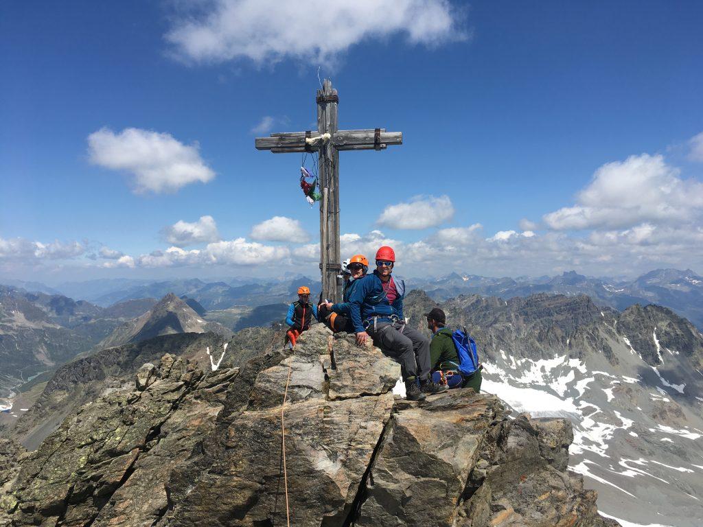 Dreiländerspitze Silvretta © Alex Klampfer Bergführer Vorarlberg