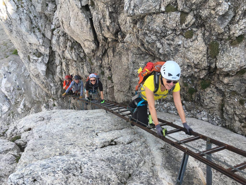 Klettersteigkurs © Alex Klampfer Bergführer Vorarlberg