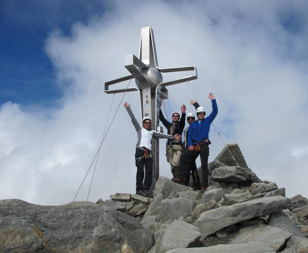 Hochtouren Stubaier Alpen Zuckerhütl © Alex Klampfer Bergführer Vorarlberg