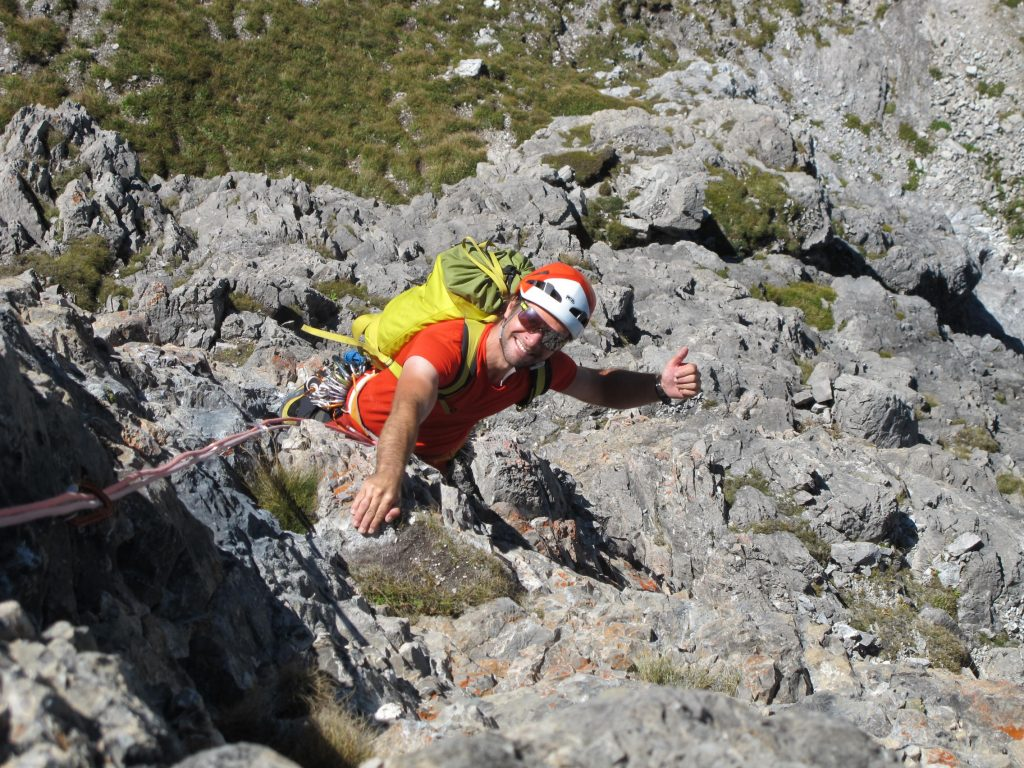 Klettern Widderstein © Alex Klampfer Bergführer Vorarlberg