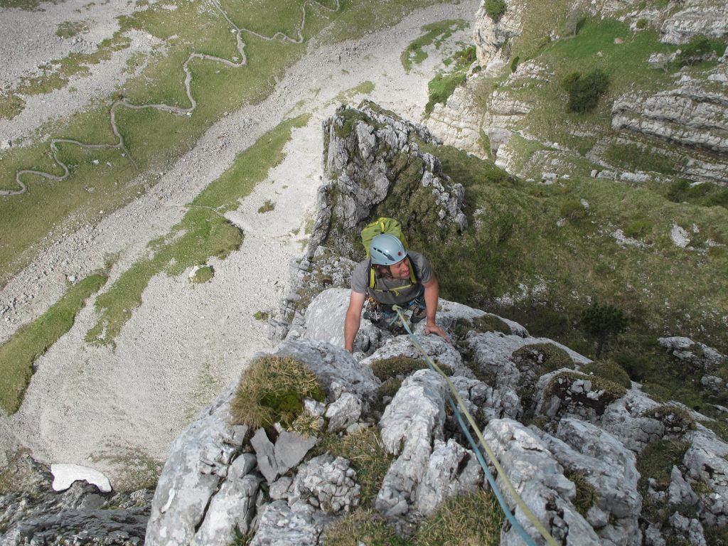 Klettern Bockmattli Schweiz © Alex Klampfer Bergführer Vorarlberg