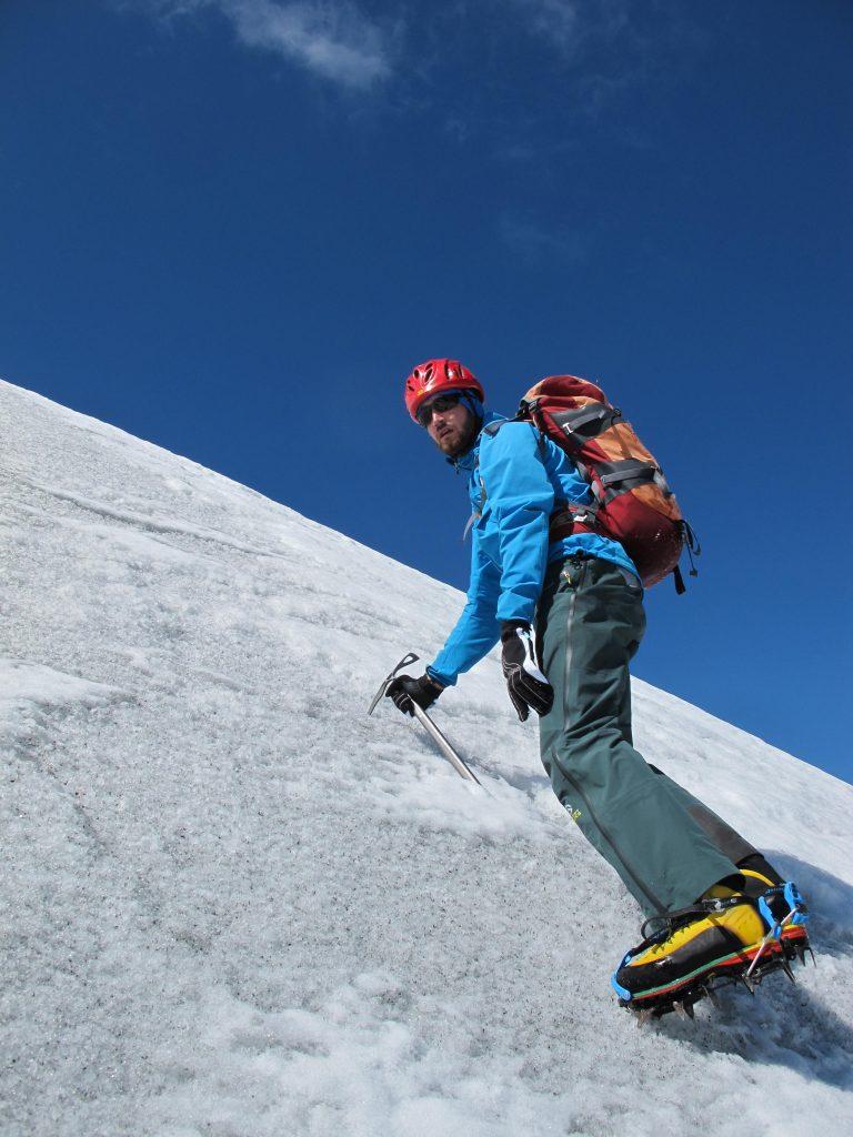 Eiskurs Gletscher Steigeisentechnik © Alex Klampfer Bergführer Vorarlberg