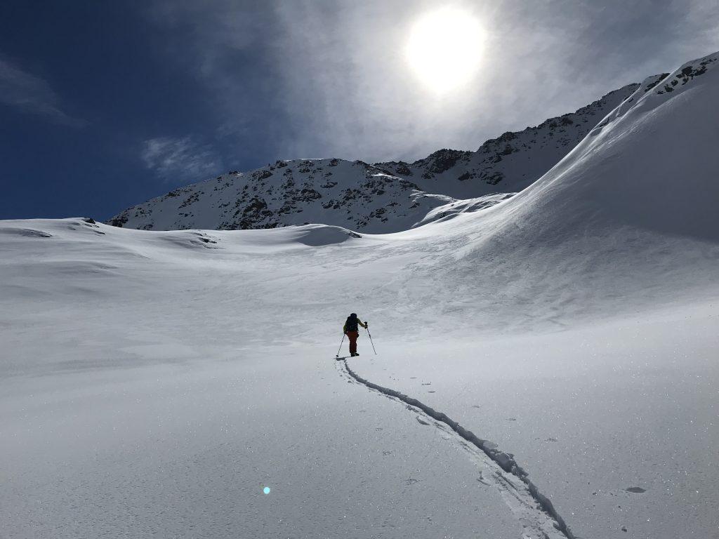 Schitour Arlberg © Alex Klampfer Bergführer Vorarlberg