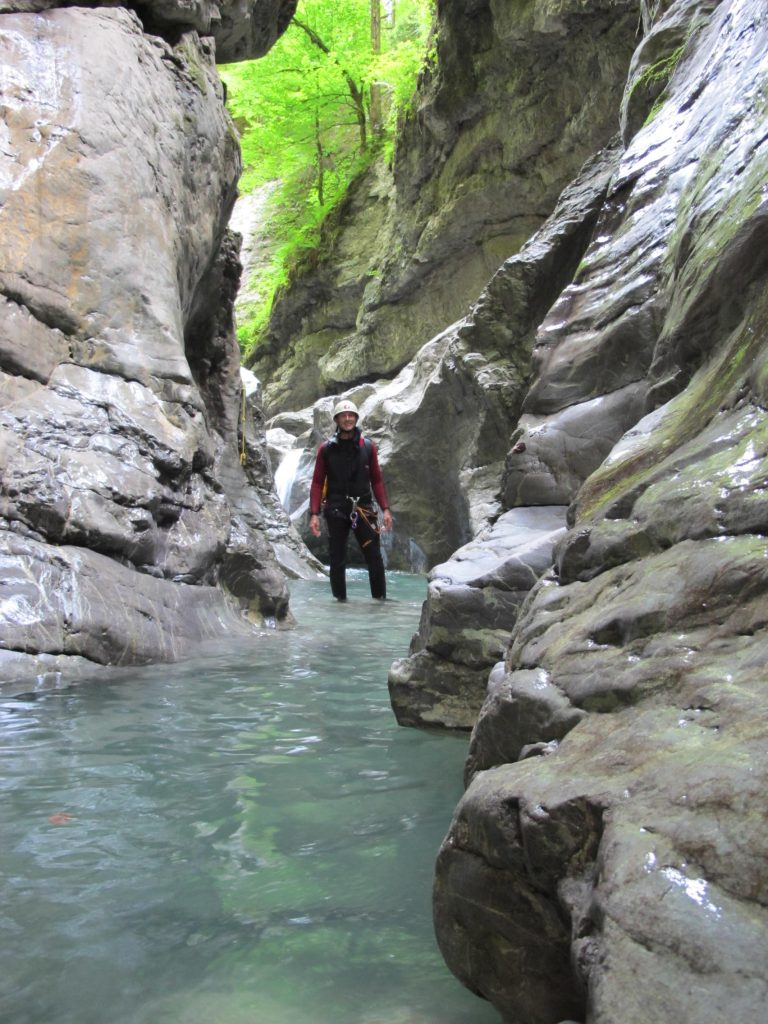 Canyoning Vorarlberg Kobelach © Alex Klampfer Bergführer Vorarlberg