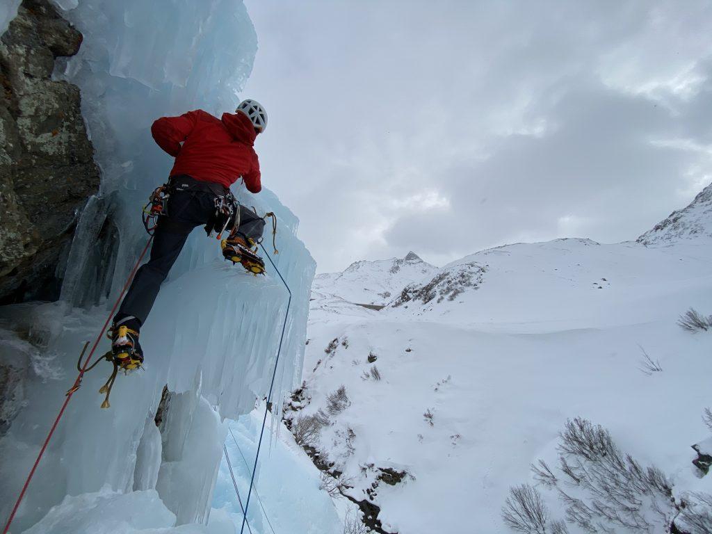 Eisklettern Silvretta Bielerhöhe @Alex Klampfer Bergführer