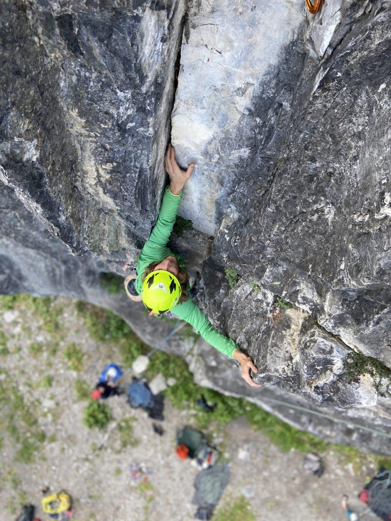 Klettern Vorarlberg @Alex Klampfer