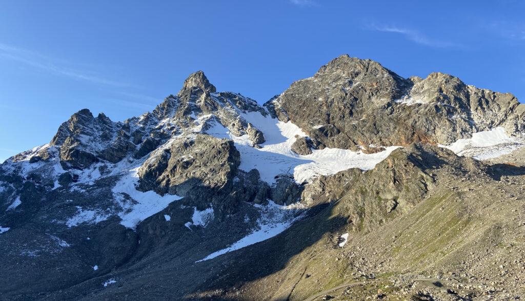 Großlitzner Seehorn Überschreitung Bergführer @Alex Klampfer Bergführer Vorarlberg